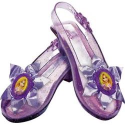 Disney Rapunzel Kids Sparkle Shoes One Size Fits Most