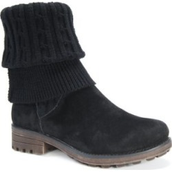 Muk Luks Women s Kelby Convertible Boot Black,6