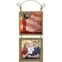 Your're My Star Patriotic photo frame Proud Home