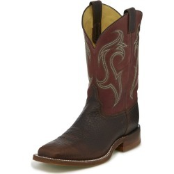 Justin Mens Bent Rail Frontier Riley Bark Boots 8E found on Bargain Bro India from Horse.com for $209.95