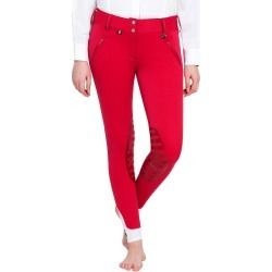 Equine Couture Beatta Knee Patch Breech 28 Berry found on Bargain Bro India from Horse.com for $89.96