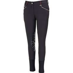Equine Couture Stars/Stripes Breech 34 Black found on Bargain Bro India from Horse.com for $89.95