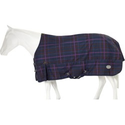 Pessoa Alpine 1200D Turnout Blanket 72 Navy/Magent found on Bargain Bro India from Horse.com for $154.95