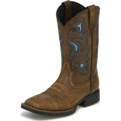 Justin Mens Square Toe Tan Bomber Boots 11EE found on Bargain Bro India from StateLineTack.com for $139.95