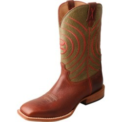 Twisted X Mens Sq Toe Nut/Olv Hooey Boots 9 EE found on Bargain Bro India from StateLineTack.com for $264.95