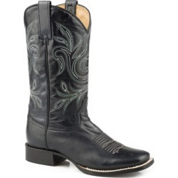 Roper Ladies Steppin Out Square Black Boots 6.5 found on Bargain Bro India from StateLineTack.com for $151.99