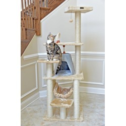 Armarkat Classic Cat Tree 65 in Beige