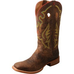 Twisted X Mens Sq Ruff Stock Saddle Boots 10 D found on Bargain Bro India from StateLineTack.com for $244.95