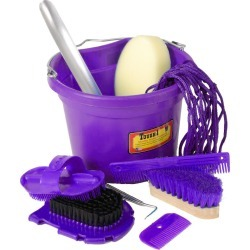 10 Piece Grooming Set Purple found on Bargain Bro India from StateLineTack.com for $39.88