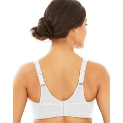Glamorise Magic Lift Plus Active Support Bra White 46G found on Bargain Bro India from JustMySize for $29.99