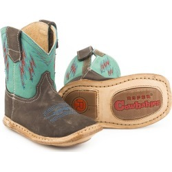 Roper Cowbabies Lightning Square Toe Boots 4 found on Bargain Bro India from Horse.com for $40.99
