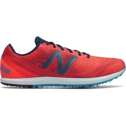 New Balance Women's XC Seven Track Spike Shoes Orange with Navy