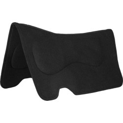 Mustang Contoured Wool Pad Liner Black found on Bargain Bro India from Horse.com for $59.99