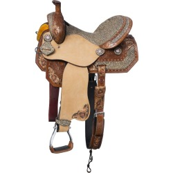 Silver Royal Jameson Barrel Saddle 5-PC Package 15 found on Bargain Bro from Horse.com for USD $531.24