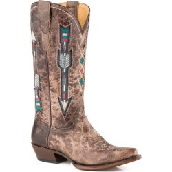 Roper Ladies Arrows Snip Toe Brown Boots 10 found on Bargain Bro India from Horse.com for $219.99
