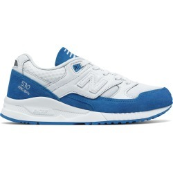 New Balance Women's 530 90s Running Shoes White with Blue