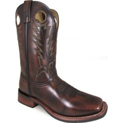 Smoky Mountain Mens Landry Square Toe Boots 8.5D found on Bargain Bro India from Horse.com for $83.30