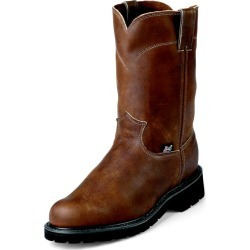 Justin Mens Dbl Comfort Pull On Work Boots 11.5EE found on Bargain Bro India from Horse.com for $179.95