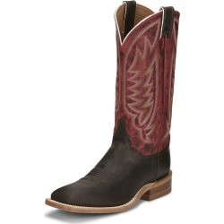 Justin Mens Andrews Sq Boots 14 D Dark Brown found on Bargain Bro India from Horse.com for $186.62