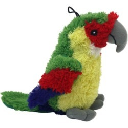 Multipet Look Who''s Talking Dog Toy Parrot