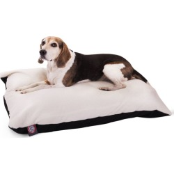 Majestic Pet Black Rectangle Pet Bed 30x40