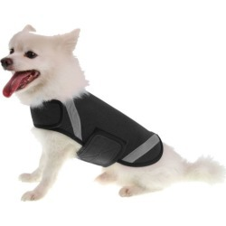 Pet Life Neoprene Shell Dog Coat SM Black found on Bargain Bro Philippines from Dog.com for $29.99