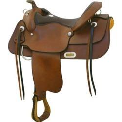 Billy Cook Saddlery Draft Trail Saddle 17In Pecan