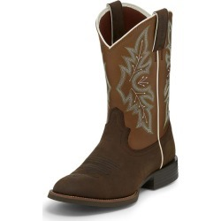 Justin Mens Round Toe Buster Bronze Boots 95D found on Bargain Bro India from StateLineTack.com for $109.95