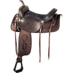 Big Horn Synthetic Draft Saddle 16in