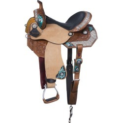 Silver Royal Ashton Barrel Saddle 16in found on Bargain Bro Philippines from Horse.com for $559.00