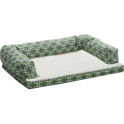 Quiet Time Teflon Green Ortho Sofa Dog Bed 36x54 found on Bargain Bro India from Horse.com for $101.99