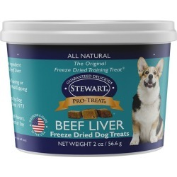 Stewart Freeze Dried Beef Liver Dog Treat 21 oz. found on Bargain Bro India from StateLineTack.com for $29.53