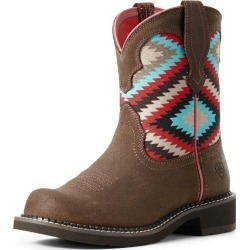 Ariat Ladies Fatbaby Hertage Twill Aztec Boots 11 found on Bargain Bro India from Horse.com for $89.95