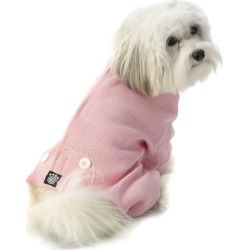 Cozy Thermal Dog Pajamas X-Small Pink found on Bargain Bro India from StateLineTack.com for $9.99