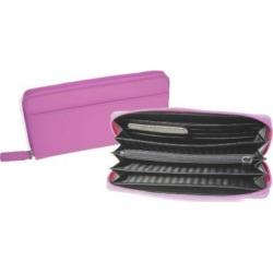 Royce Leather RFID Women's Wallet Pink