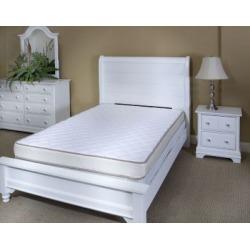 InnerSpace Sleep Luxury Reversible Mattresses Beige, Twin