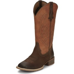 Justin Ladies Breakaway Sq Boots 9 B Brown found on Bargain Bro India from Horse.com for $115.51