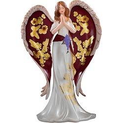 Lena Liu Glorious Praise Hand-Painted Angel Figurine