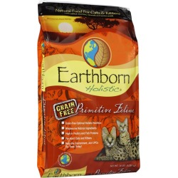 Earthborn Grain Free Primitive Feline Dry Cat Food found on Bargain Bro India from Dog.com for $31.99