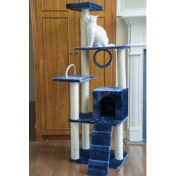 Armarkat Classic Cat Tree 71 in Navy