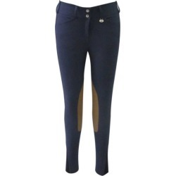 GHM Show Time Knee Patch Breech 30 Navy found on Bargain Bro India from StateLineTack.com for $115.99