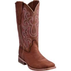 Ferrini Ladies Maverick Square Toe Boots 6 Tan found on Bargain Bro Philippines from StateLineTack.com for $149.99