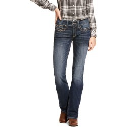 Ariat Ladies REAL Entwined Mid Rise Jeans 29 Short found on Bargain Bro Philippines from Horse.com for $76.95