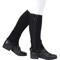 Dublin Adult Easy Care Half Chaps Medium Black found on Bargain Bro from Horse.com for USD $31.88