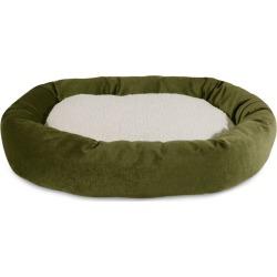Majestic Pet Fern Villa Sherpa Bagel Bed 40 inch
