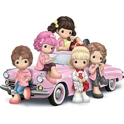 Precious Moments Grease Pink Ladies Figurine Collection found on Bargain Bro India from Bradford Exchange for $39.99