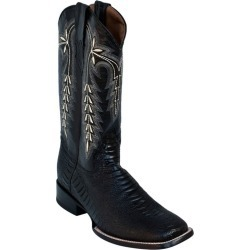 Ferrini Mens Print Ostrich Leg Sq Blk Boots 8D found on Bargain Bro India from Horse.com for $189.99