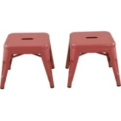 Ace Bayou Reservation Seating Kids Stool - Set of 2, Pink