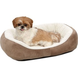 Quiet Time Boutique Cuddle Pet Bed Taupe Small found on Bargain Bro India from Horse.com for $32.49