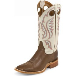 Justin Mens Bent Rail Sq Toe Boots 6.5D Bone found on Bargain Bro India from StateLineTack.com for $182.18